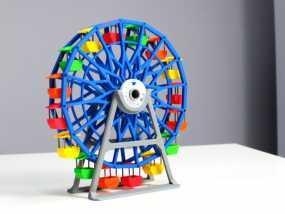 摩天轮 3D模型