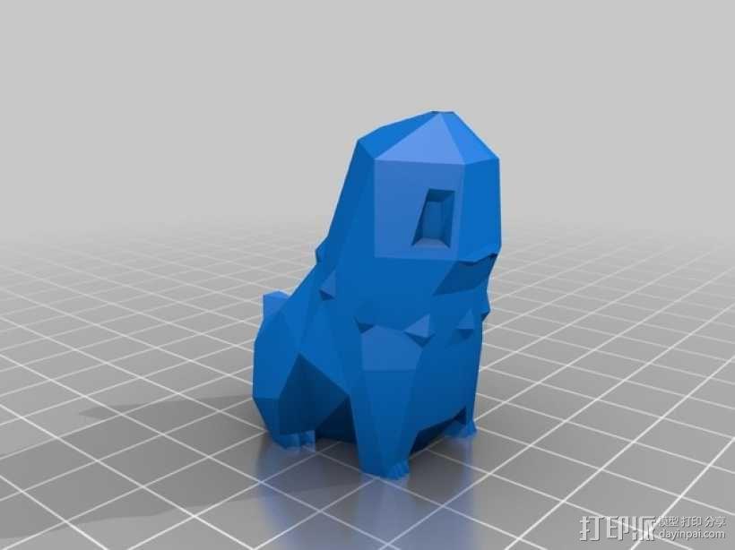 菊草叶 3D模型  图3