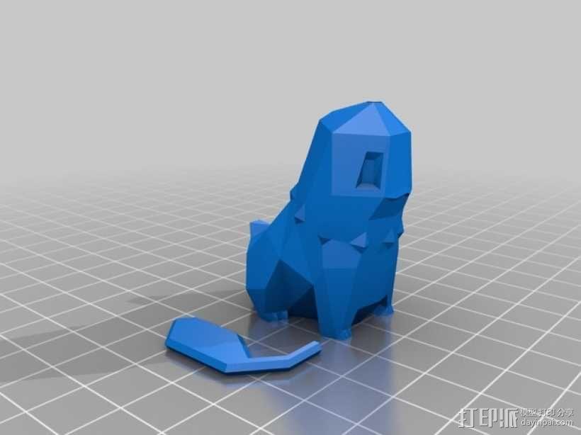 菊草叶 3D模型  图4