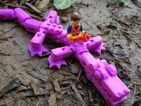 鳄鱼玩具 3D模型