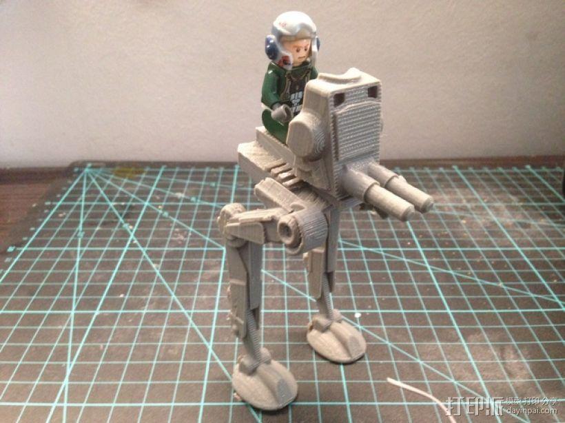 乐高步行器 3D模型  图1