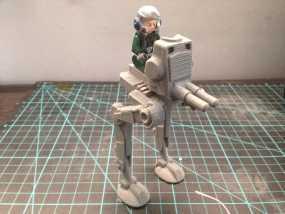 乐高步行器 3D模型