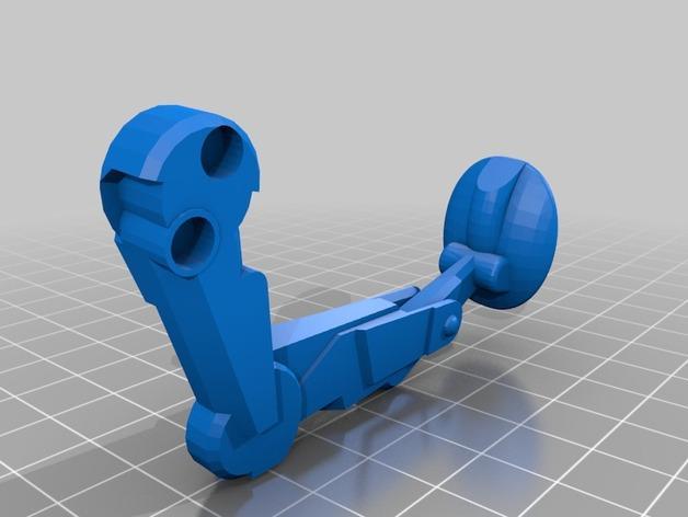 乐高步行器 3D模型  图3