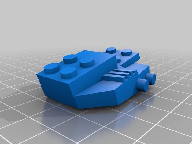 乐高步行器 3D模型  图4