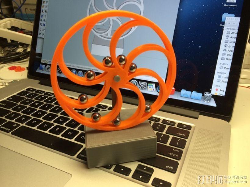 永动机 3D模型  图1