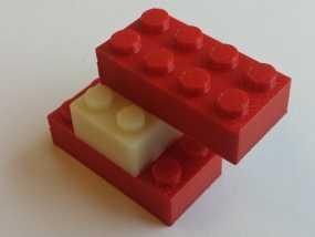 经典乐高方块 3D模型