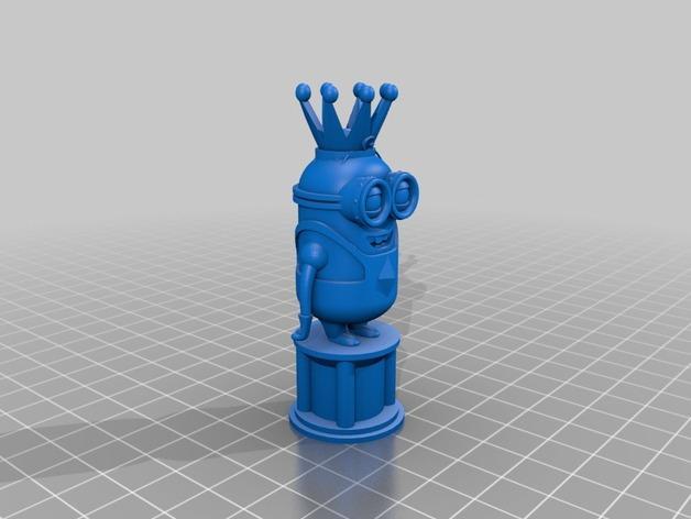 人偶象棋 3D模型  图2