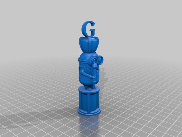 人偶象棋 3D模型  图5