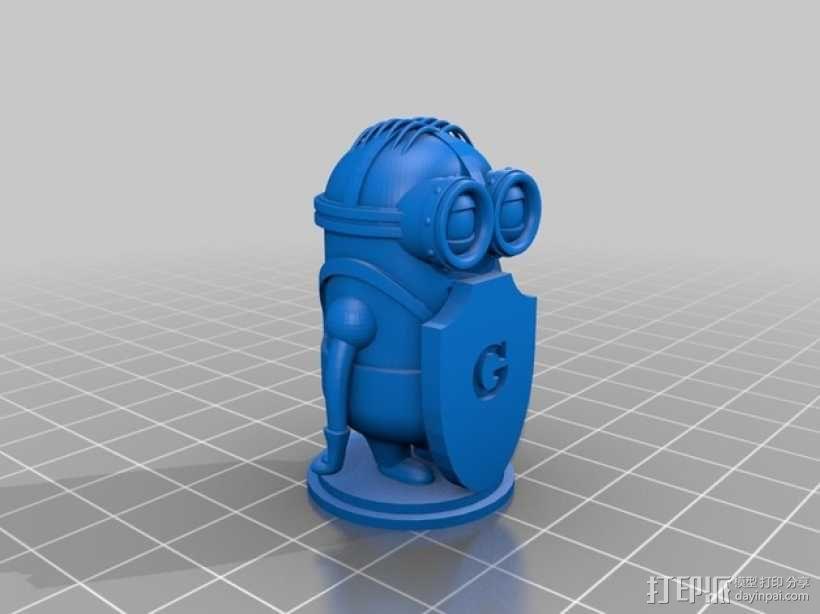 人偶象棋 3D模型  图7