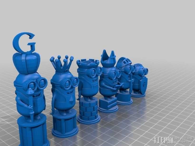 人偶象棋 3D模型  图8