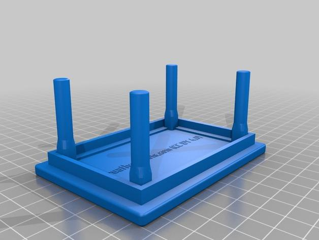 咖啡杯托盘 3D模型  图4