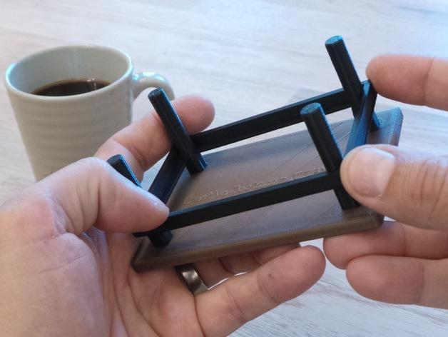 咖啡杯托盘 3D模型  图11