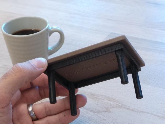 咖啡杯托盘 3D模型  图9