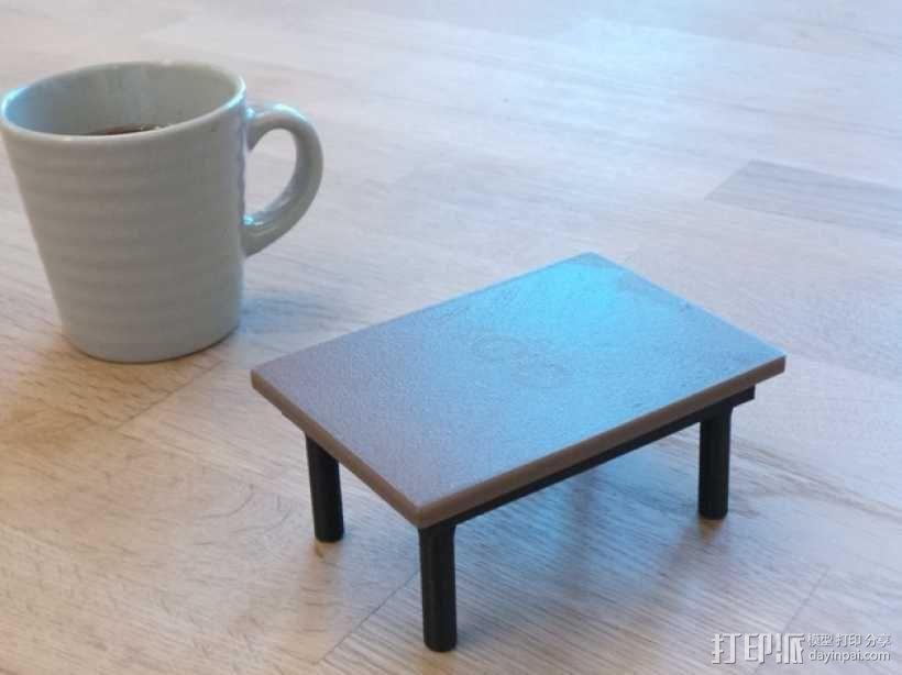 咖啡杯托盘 3D模型  图14