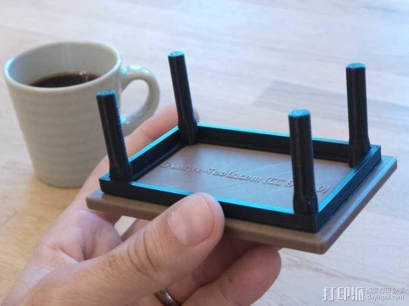 咖啡杯托盘 3D模型  图16