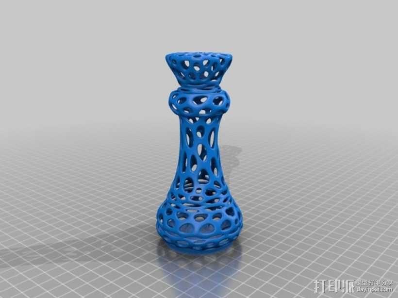 Voronoi风格象棋 3D模型  图6