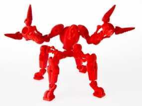 蜘蛛形机器人 3D模型