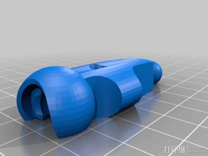 蜘蛛形机器人 3D模型  图4