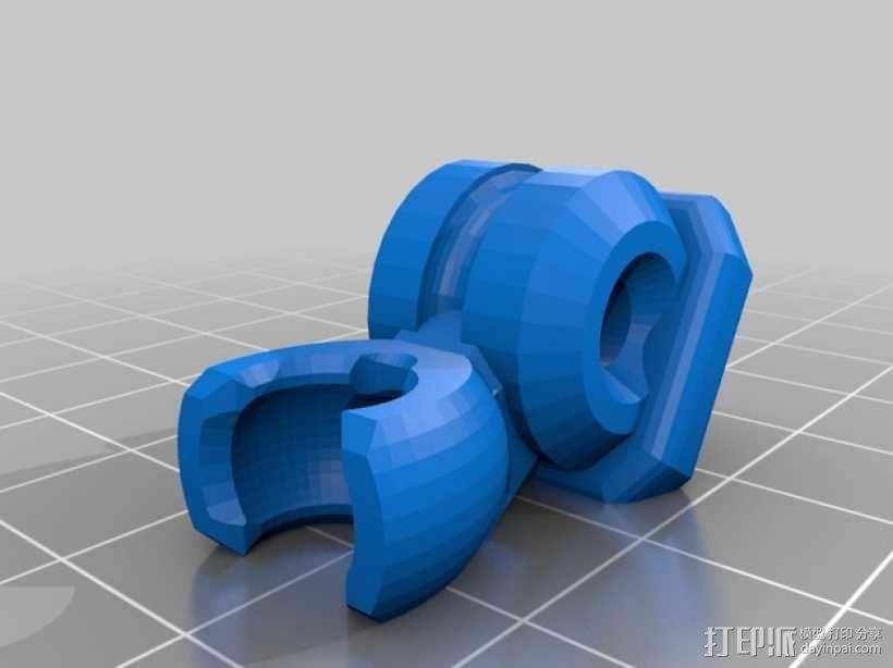 蜘蛛形机器人 3D模型  图3