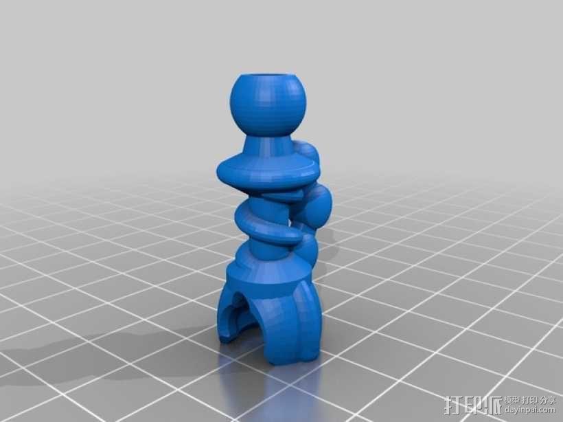 蜘蛛形机器人 3D模型  图5