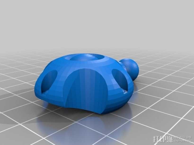 蜘蛛形机器人 3D模型  图6