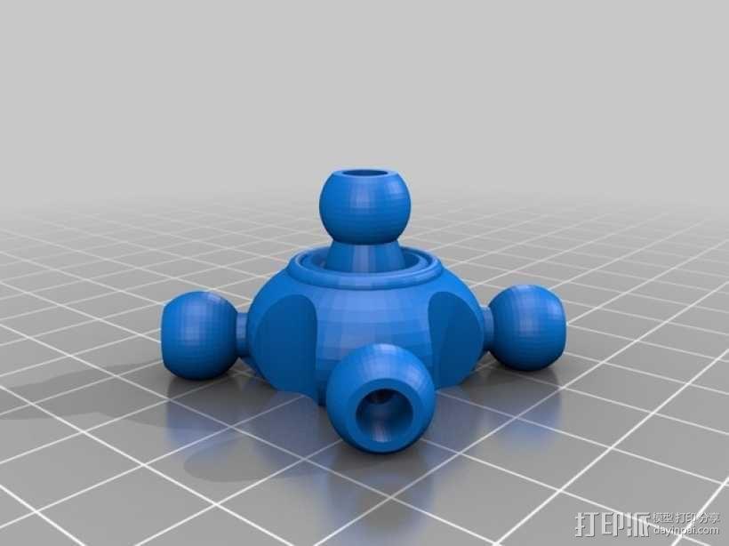 蜘蛛形机器人 3D模型  图7