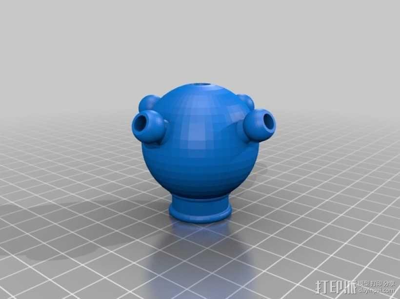 蜘蛛形机器人 3D模型  图10
