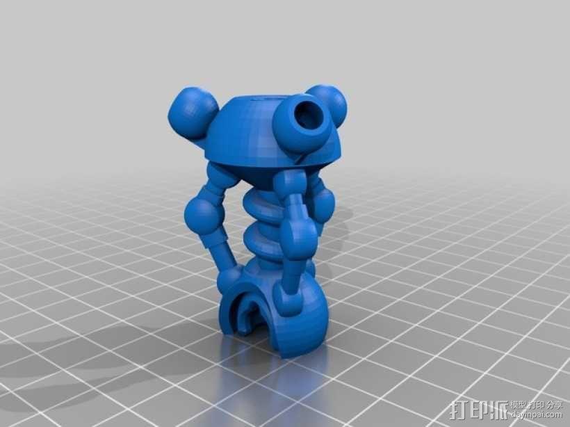 蜘蛛形机器人 3D模型  图12