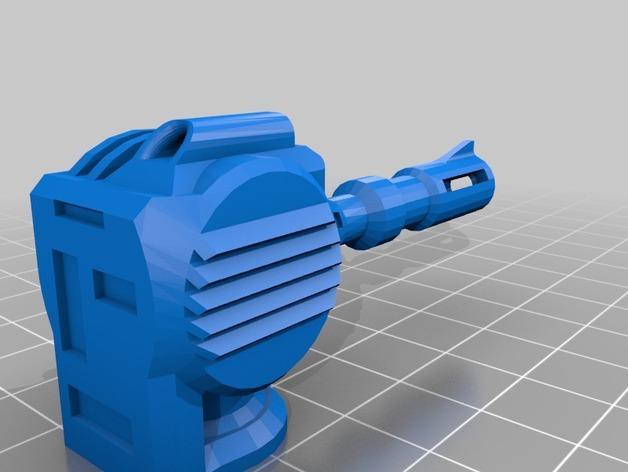 爆破工 3D模型  图2