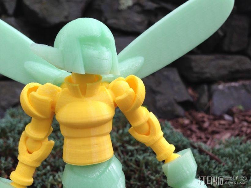 小精灵玩偶 3D模型  图18