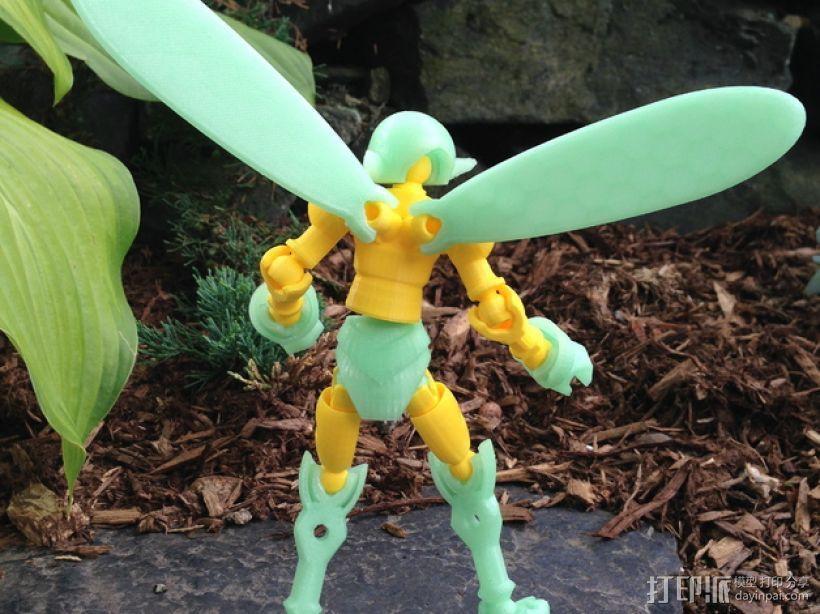 小精灵玩偶 3D模型  图16