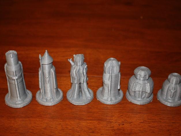 迷你象棋 3D模型  图2