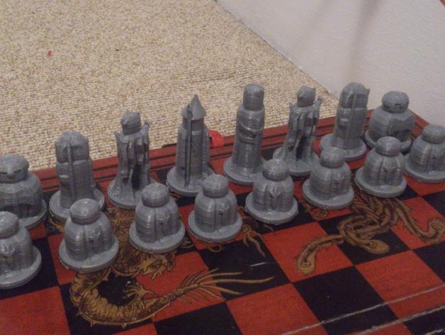 迷你象棋 3D模型  图3