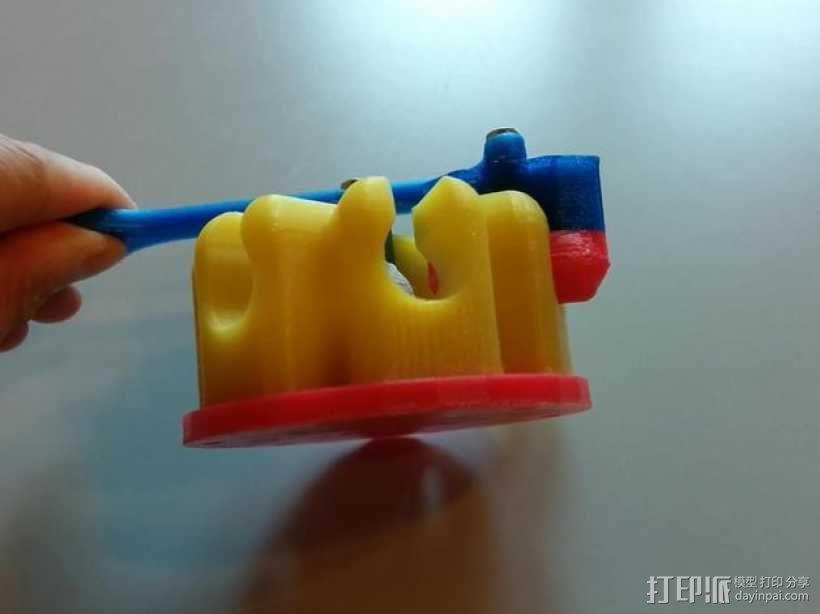 阿基米德梁规 3D模型  图7