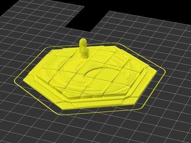 《卡坦岛》地形图 3D模型  图6