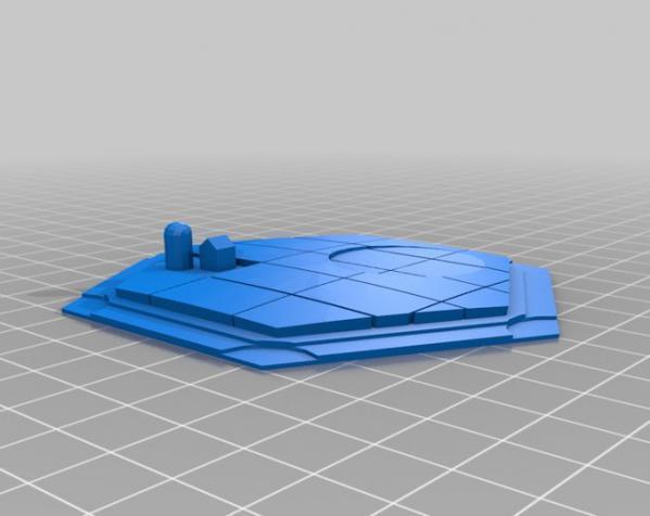 《卡坦岛》地形图 3D模型  图10