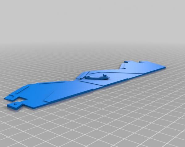 《卡坦岛》地形图 3D模型  图14