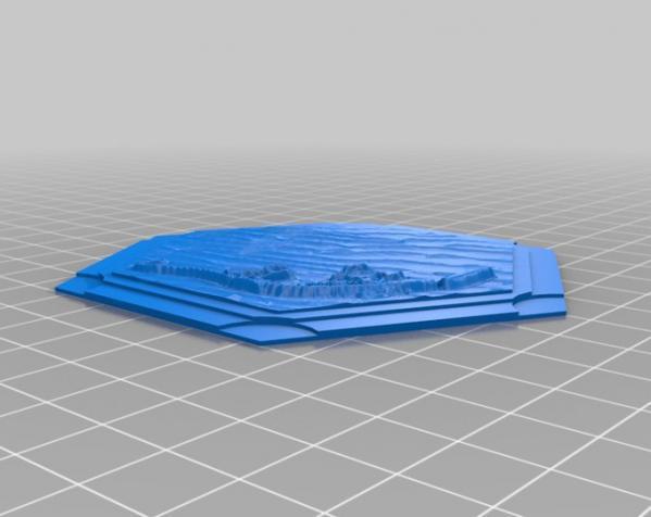 《卡坦岛》地形图 3D模型  图16