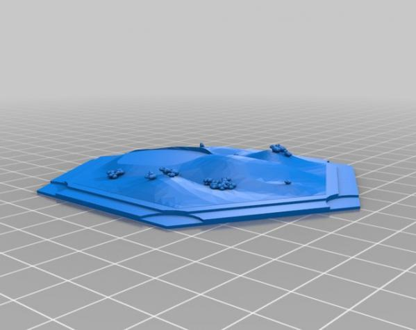 《卡坦岛》地形图 3D模型  图18