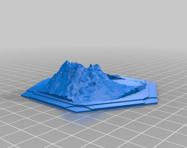 《卡坦岛》地形图 3D模型  图20