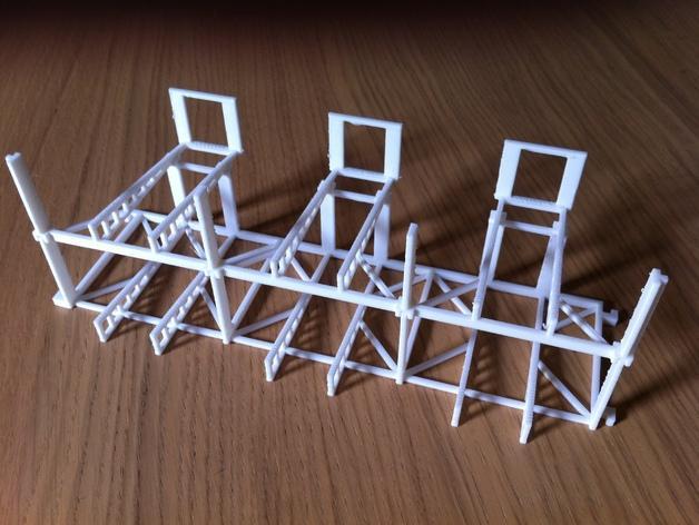 双层卡架 3D模型  图3