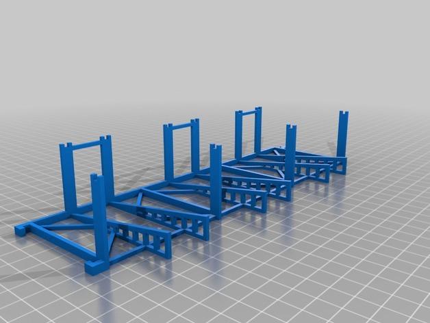 双层卡架 3D模型  图9