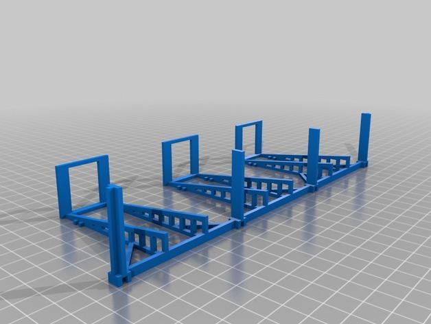 双层卡架 3D模型  图10