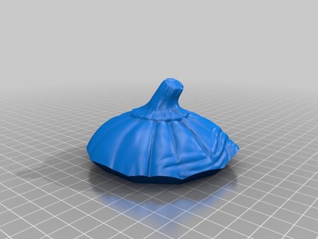 南瓜糖果罐 3D模型  图5