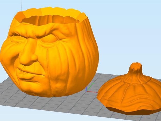 南瓜糖果罐 3D模型  图7