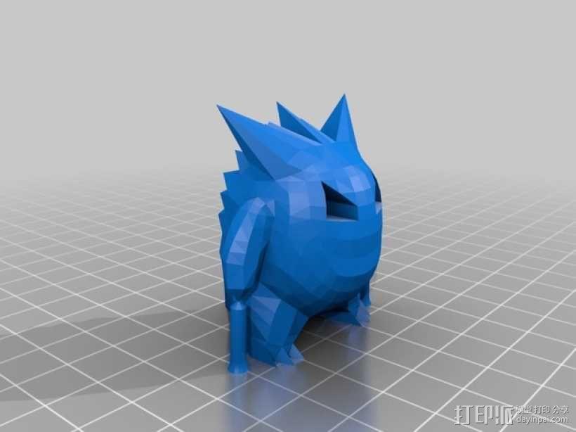 耿鬼 3D模型  图2