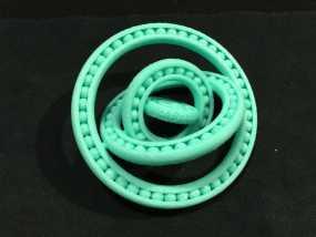 四球承轴 3D模型