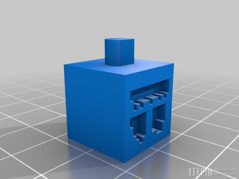 《Minecraft》系列象棋 3D模型  图2
