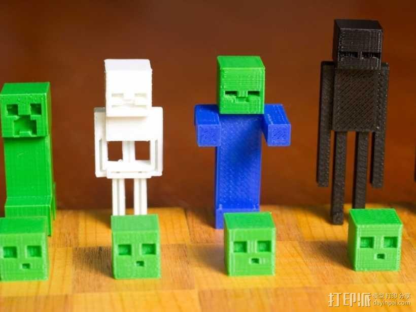 《Minecraft》系列象棋 3D模型  图4