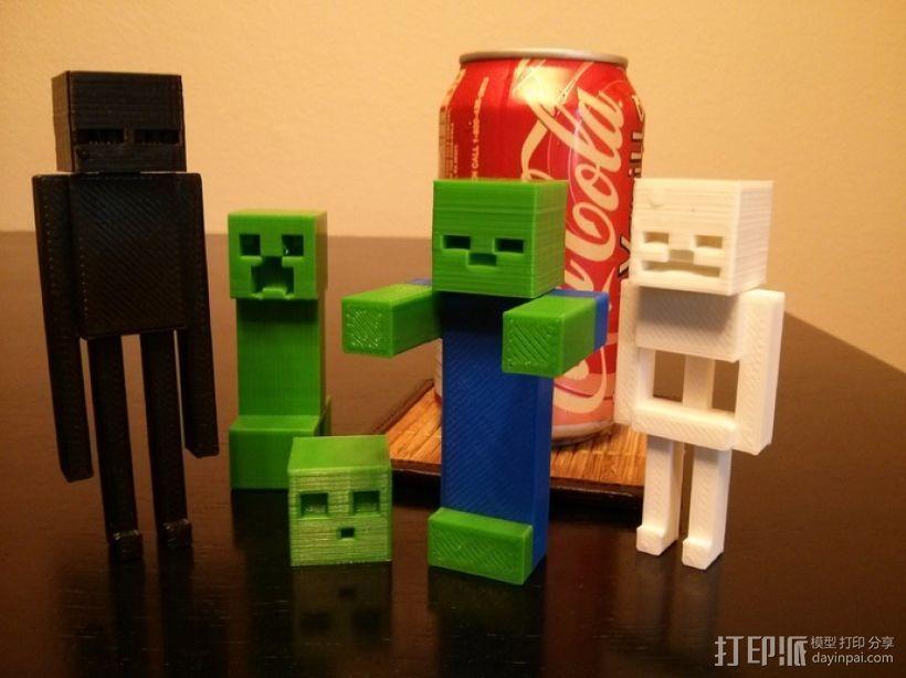 《Minecraft》系列象棋 3D模型  图5